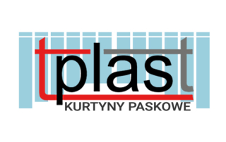 TPLAST kurtyny paskowe logo