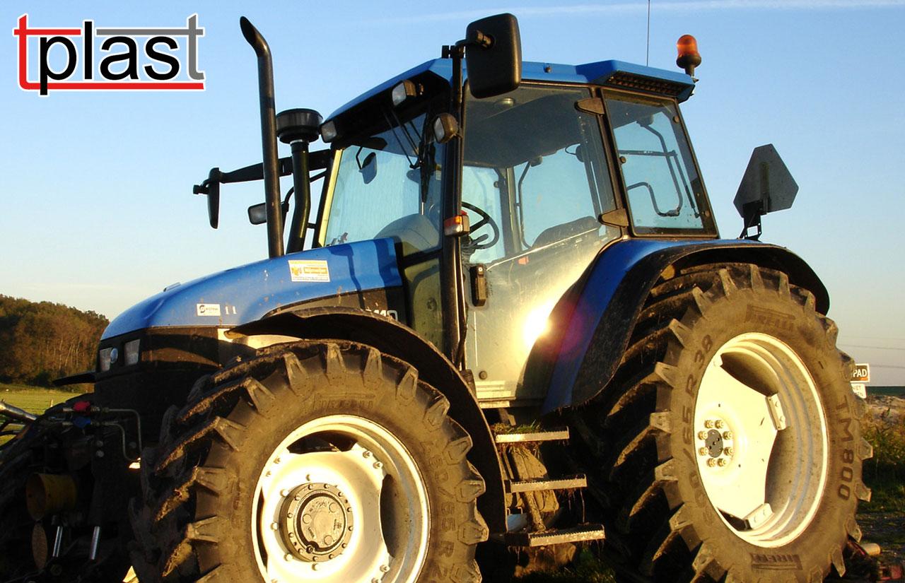 szyby specjalistyczne do maszyn budowlanych i rolniczych